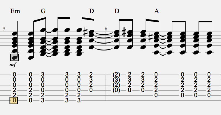 Changing Chords Off The Beat And Dduuduuduudu Strumming Pattern