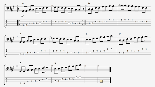 BLUES BASS LINES 6'S + 7'S