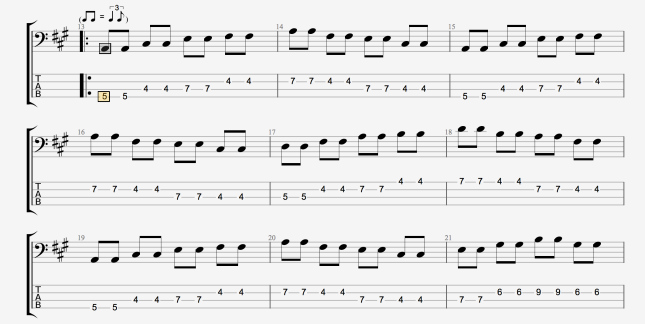 BLUES BASS PATTERN 2 PT 1