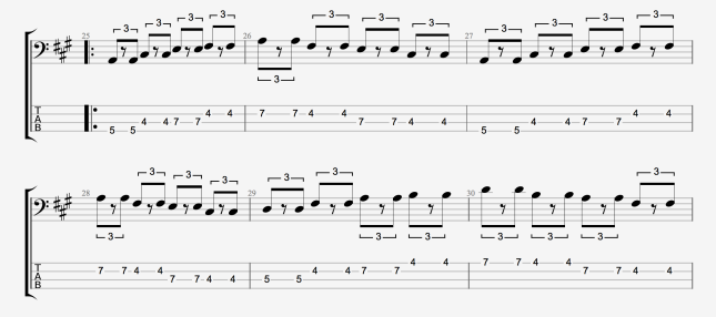 BLUES BASS PATTERN 3 PT 1