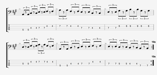 BLUES BASS PATTERN 3 PT 2